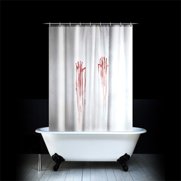 Bloodstained-Shower-Curtain